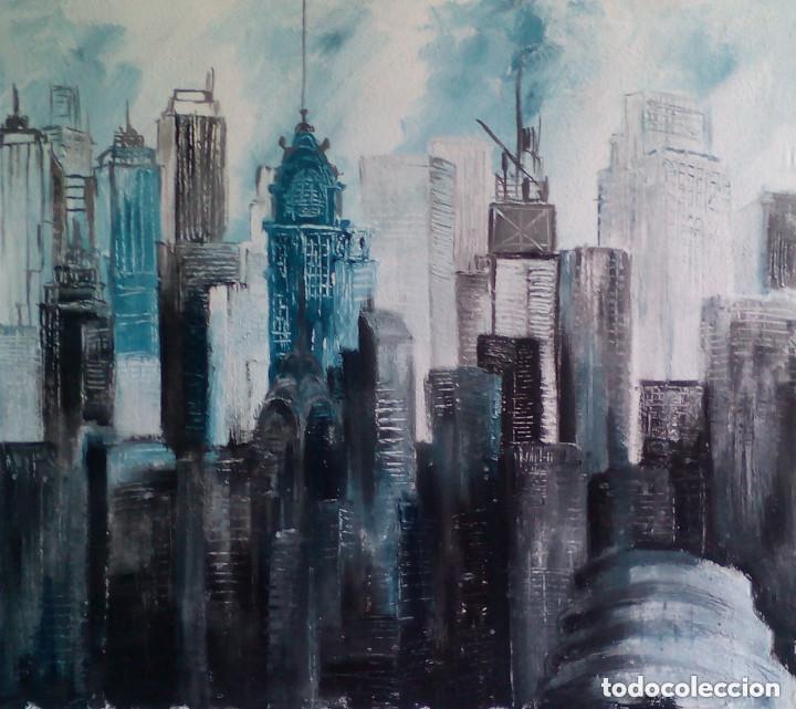 Arte: pintura sobre tela original.FIRMADA - Foto 2 - 129328479