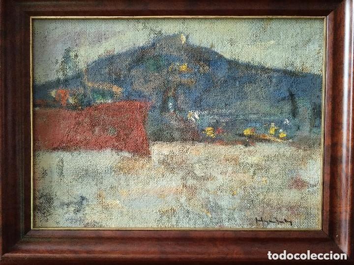pintura al óleo - 49 x 36 cm - paisaje - marco - Comprar Pintura al ...