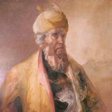 Arte: FRANCISCO BORRÁS (SEVILLA, 1938). HOMBRE CON TURBANTE. ÓLEO SOBRE LIENZO. Lote 129437448