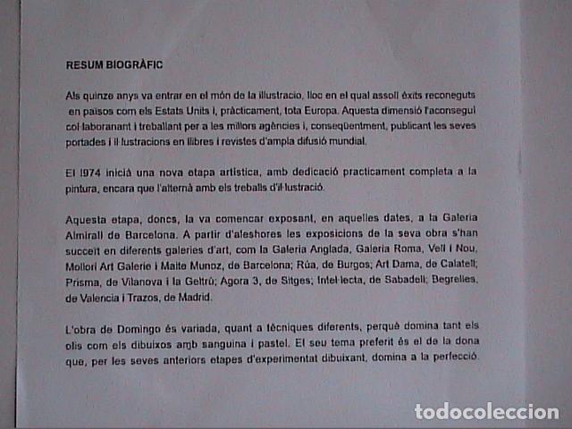 Arte: EXCELENTE OLEO SOBRE TABLEX. DOMINGO ALVAREZ. PUERTO DEPORTIVO. - Foto 5 - 101276683