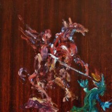 Arte: SANT JORDI ( 1998 ) . MIGUEL ROBLEDO CIMBRÓN. Lote 129500219