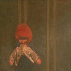 Arte: BALDOMERO ROMERO RESSENDI (SEVILLA 1922-1977 MADRID). MUÑECA. ÓLEO SOBRE LIENZO.. Lote 129513795