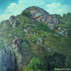 Arte: RICARDO LÓPEZ CABRERA (SEVILLA 1864-1950). PAISAJE DE LA SIERRA DE CÓRDOBA (ARGENTINA). Lote 129513847