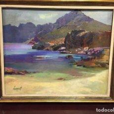Arte: OLEO SOBRE TELA SOBRE POLLENSA MALLORCA DE BELTRAN BOFILL. Lote 129534539