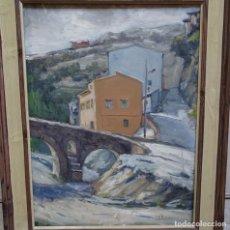 Arte: ÓLEO SOBRE TELA FIRMADO E. VALDEPERAS.. Lote 129668635