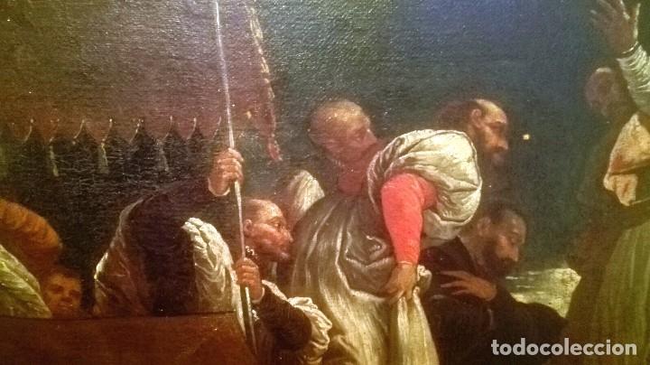 Arte: Escuela Italiana siglo XVIII. San Nicolás. Después Veronese. Gran dimensión - Foto 8 - 126017015