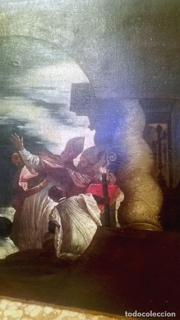 Arte: Escuela Italiana siglo XVIII. San Nicolás. Después Veronese. Gran dimensión - Foto 10 - 126017015