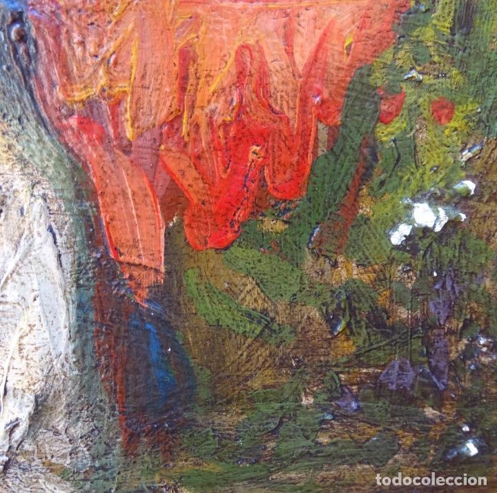 Arte: Óleo sobre tela s.xix.muy buen trazo.Circulo Lucas Velázquez-Villamil. - Foto 11 - 238682500