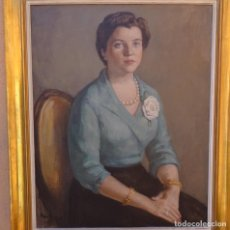 Arte: GRAN ÓLEO SOBRE TELA.PEDRO BUENO VILLAREJO(VILLA DEL RÍO 1910-MADRID1993).FANTÁSTICO.. Lote 289514413