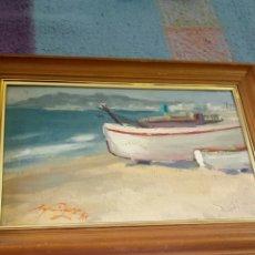 Arte: OLEO FIRMADO DESCONOZCO. Lote 129990308