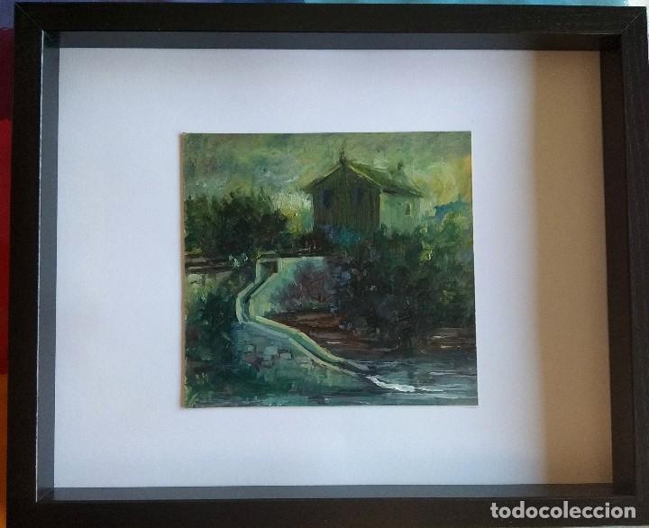 Arte: Óleo sobre cartón prensado.obra original de autor - Foto 2 - 130091499