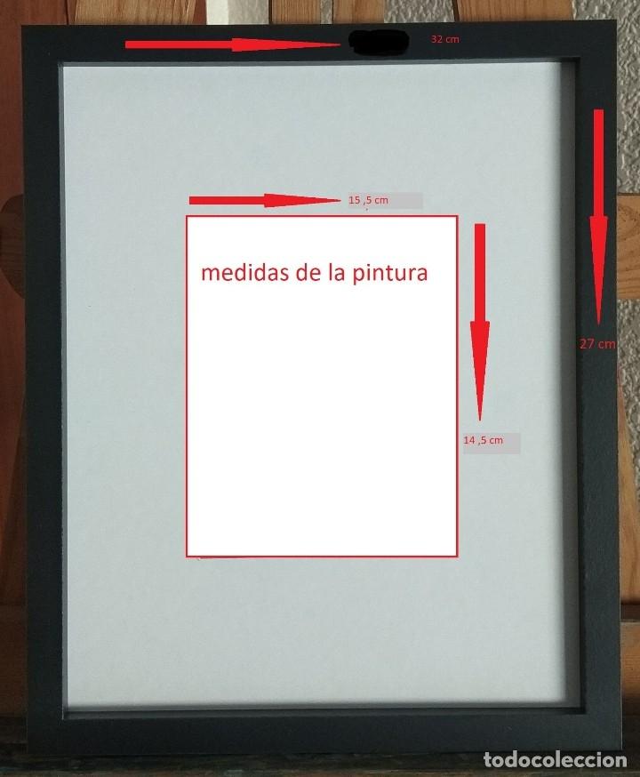 Arte: Óleo sobre cartón prensado.obra original de autor - Foto 3 - 130091499