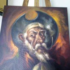 Arte: QUIJOTE DE JOLOGA. LIENZO 65X54. ELIGE MARCO GRATIS A TU GUSTO.. Lote 130121583