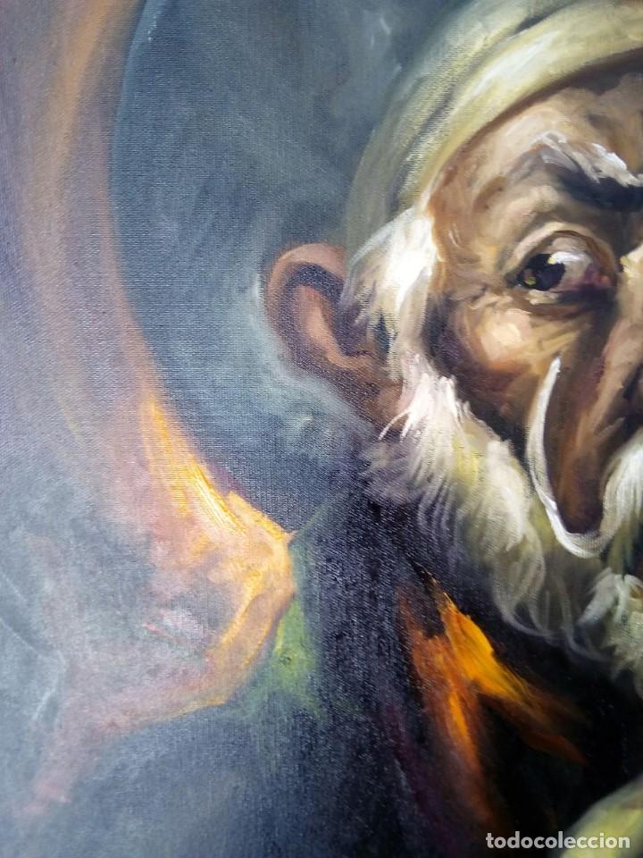 Arte: QUIJOTE DE JOLOGA. LIENZO 65X54. ELIGE MARCO GRATIS A TU GUSTO. - Foto 8 - 130121583