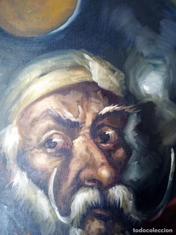 Arte: QUIJOTE DE JOLOGA. LIENZO 65X54. ELIGE MARCO GRATIS A TU GUSTO. - Foto 9 - 130121583
