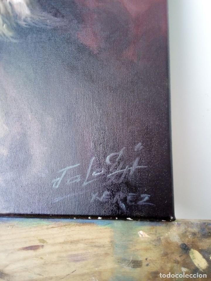 Arte: QUIJOTE DE JOLOGA. LIENZO 65X54. ELIGE MARCO GRATIS A TU GUSTO. - Foto 10 - 130121583