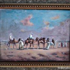 Kunst - Escuela Orientalista (Mediados del siglo XX) - Caravana de bereberes - 130362582
