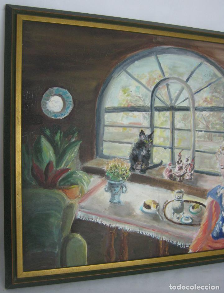 Arte: 77 cm - Bella pintura al oleo firmada - Foto 2 - 130543822