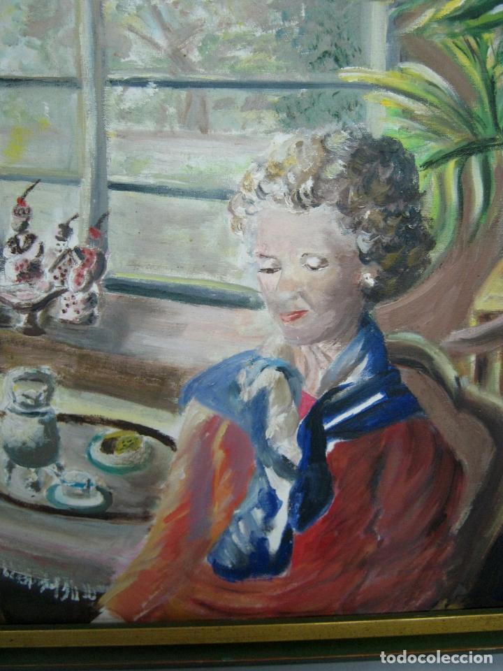 Arte: 77 cm - Bella pintura al oleo firmada - Foto 4 - 130543822