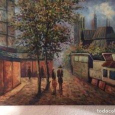 Arte: FIRMADO DUBOIS, 50X60 CMS, PARIS. Lote 130635110