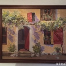 Arte: PABLO MAÑÉ, OLEO SOBRE LIENZO 60X50. Lote 130635954