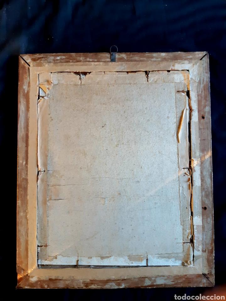 Arte: Óleo sobre lienzo del siglo XVIII representando a San Pedro - Foto 13 - 123099371