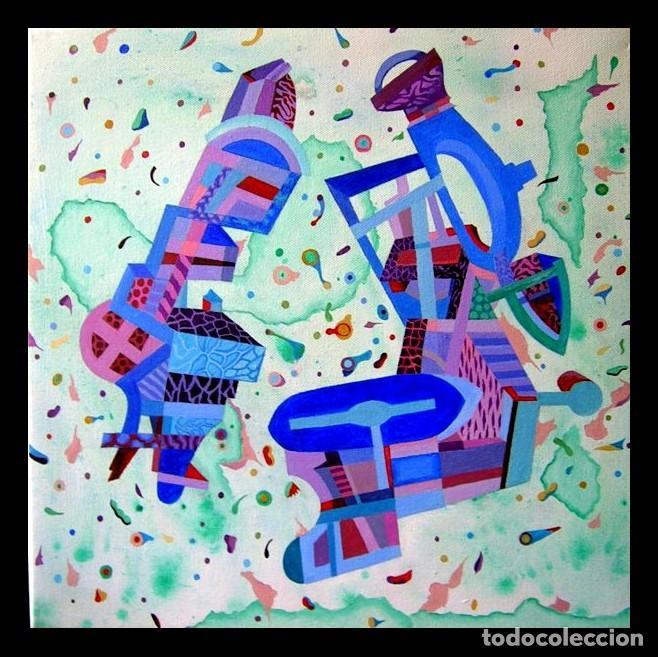Arte: Musicians - Pintura Acrílica sobre lienzo y bastidor. - Foto 2 - 130761216