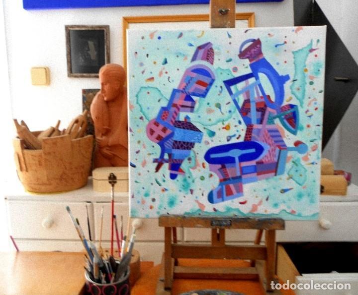 Arte: Musicians - Pintura Acrílica sobre lienzo y bastidor. - Foto 4 - 130761216