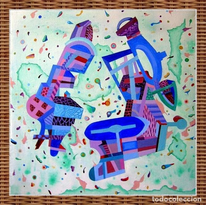 Arte: Musicians - Pintura Acrílica sobre lienzo y bastidor. - Foto 5 - 130761216