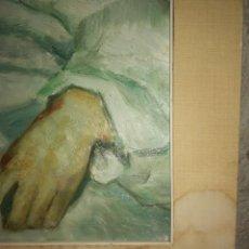 Arte: CUADRO PINTADO SOBRE TABLA. Lote 130894528