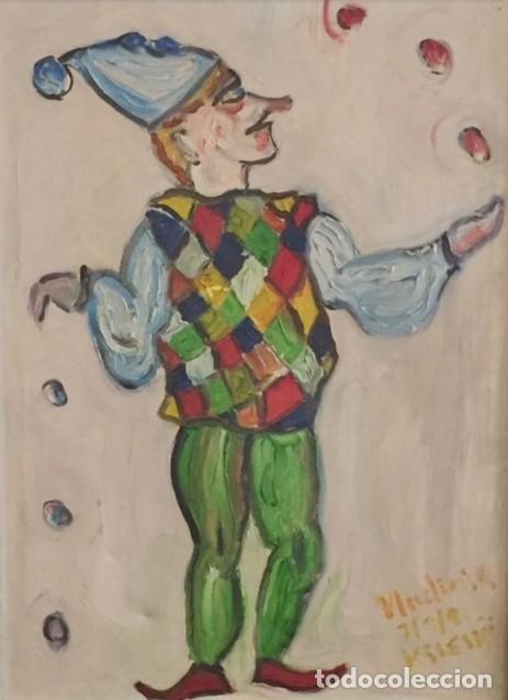 JOKER (Arte - Pintura Directa del Autor)
