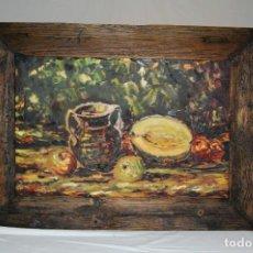 Arte: OLEO SOBRE TABLEX, BODEGÓN . Lote 131130596