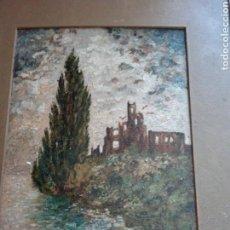 Arte: OLEO DEL GRAN PINTOR AÑO 1919. Lote 131180965