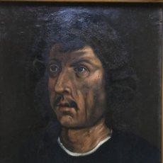 Arte: RETRATO DE VELLANO DA PADOVA (XVI?-XVII?) - ÓLEO SOBRE TELA (REENTELADO). Lote 131304247