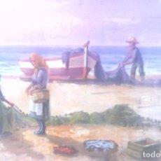 Arte: FONT SELLABONA - OLEO - MARINA .. Lote 131320910