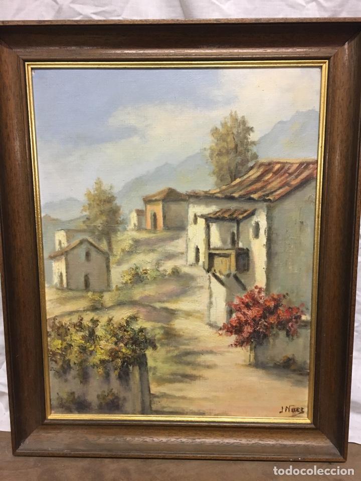 ÓLEO SOBRE LIENZO PAISAJE FIRMADO (Arte - Pintura - Pintura al Óleo Contemporánea )