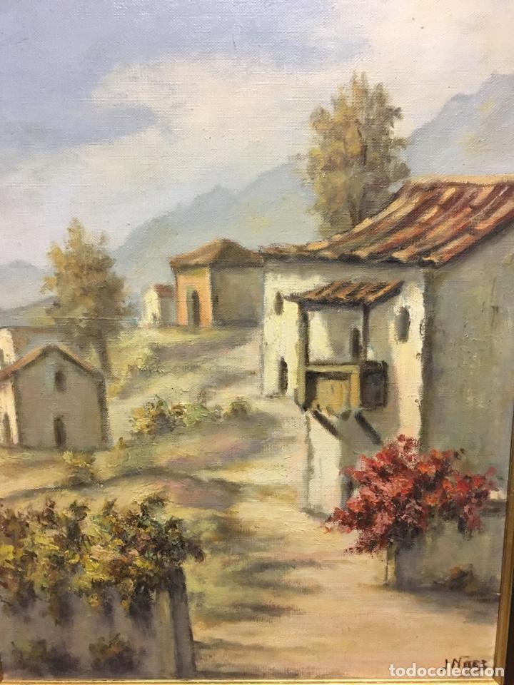 Arte: Óleo sobre lienzo paisaje firmado - Foto 2 - 131335071
