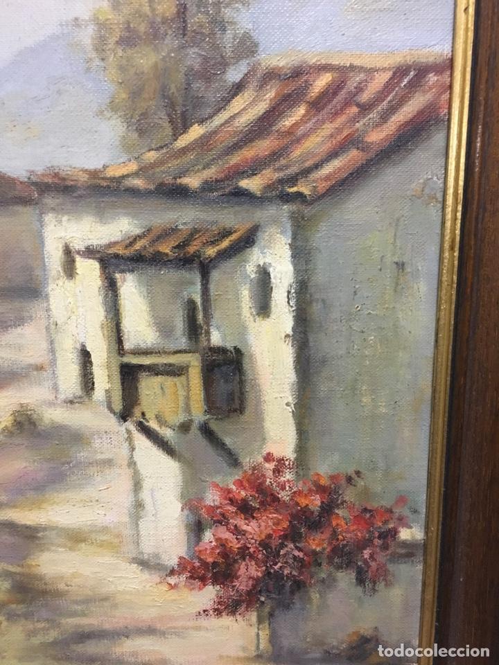 Arte: Óleo sobre lienzo paisaje firmado - Foto 3 - 131335071