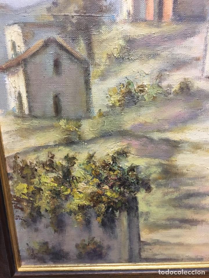 Arte: Óleo sobre lienzo paisaje firmado - Foto 5 - 131335071