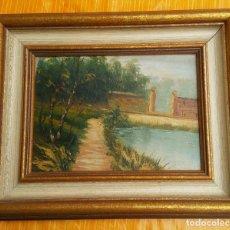 Arte: DOS PINTURAS AL OLEO AÑOS 90. ESTILO HOLANDES. Lote 131356474
