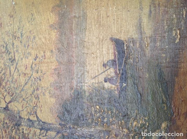 Arte: Óleo sobre tabla. 1902 - Foto 4 - 131388758