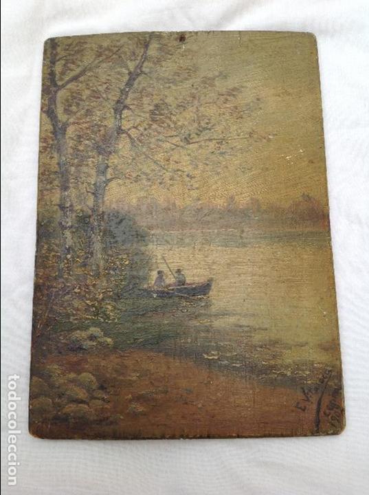 ÓLEO SOBRE TABLA. 1902 (Arte - Pintura - Pintura al Óleo Contemporánea )