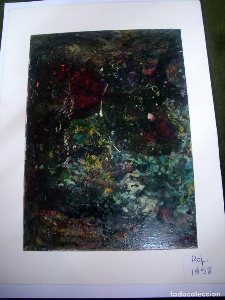 PINTURA ACRILICA ABSTRACTA. CA8 (Arte - Pintura - Pintura al Óleo Contemporánea )