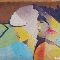 Arte: PRECIOSA PINTURA DE BUEN TAMAÑO FIRMADA J. COLLADO 78. Lote 131572749