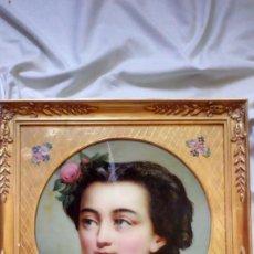 Arte: RETRATO FEMENINO. II IMPERIO FRANCÉS. ¿EUGENIA DE MONTIJO... Lote 131639270