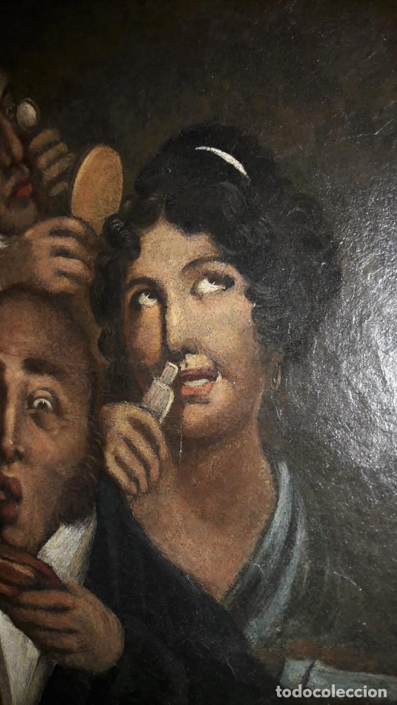 Arte: OLEO SOBRE LIENZO,ESCUELA INGLESA, S. XVIII - Foto 3 - 131676090