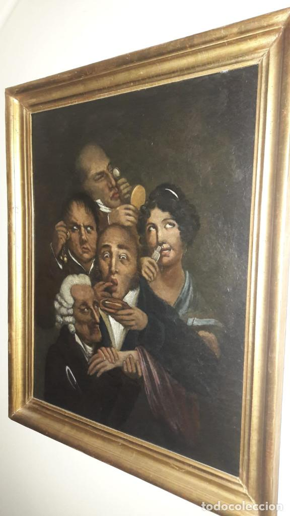 Arte: OLEO SOBRE LIENZO,ESCUELA INGLESA, S. XVIII - Foto 8 - 131676090