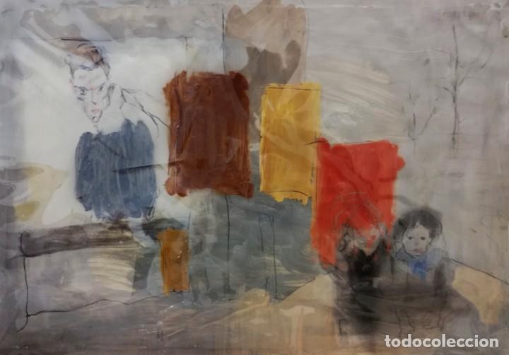HOMENAJE A SCHIELE (Arte - Pintura - Pintura al Óleo Contemporánea )
