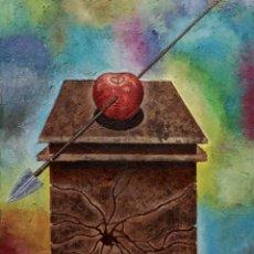 Arte: LA MANZANA DE GUILLERMO TELL. Lote 131708138