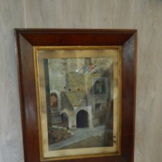 Arte: PINTURA OLEO CATALANA FIRMA COLL SALIETI S.XIX. Lote 131717458
